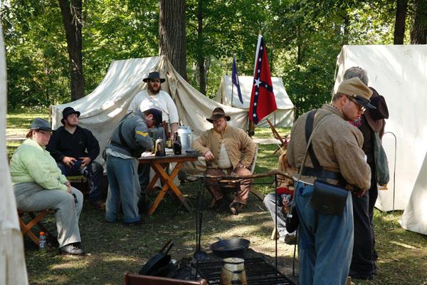 Civil War Reenactment (Mason City) 2018 | Lake Mills Graphic